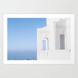 Griffith Observatory Los Angeles California Art Print