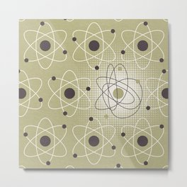 Complicated/Complex Metal Print