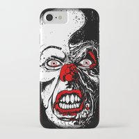 pennywise iPhone & iPod Cases featuring Pennywise by Beery Method