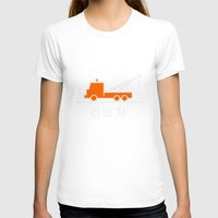 korea T-shirts featuring Tow truck - Korea by Crazy Thoom