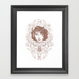 Clairvoyance Framed Art Print