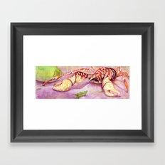 Coconut Crab Framed Art Print