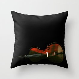 Bass 3 Throw Pillow
