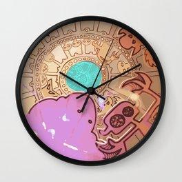 I REMEMBER LEMURIA Wall Clock