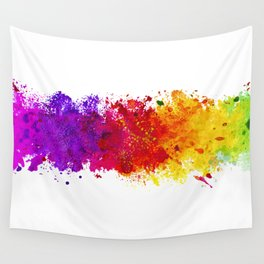 Color me blind Wall Tapestry