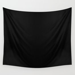 Sooty Black Wall Tapestry