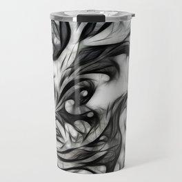 Glowing Floral Invert Travel Mug