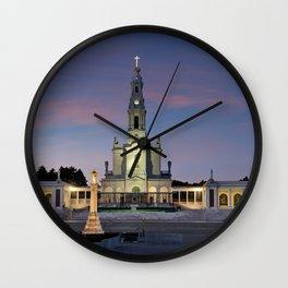 The Basilica of Fatima, Portugal Wall Clock