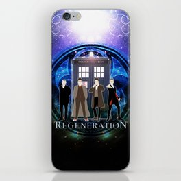 The Doctor Of Regeneration iPhone Skin