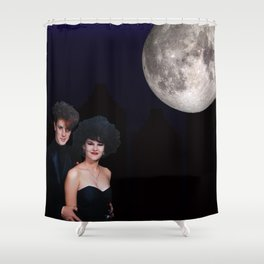 Goth Prom Shower Curtain