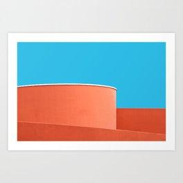 Skymetric • 3 Art Print