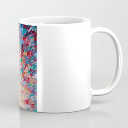 SPLASH - WOW Dash of Cheerful Color, Bold Water Waves Theme, Nature Lovers Modern Abstract Decor Coffee Mug