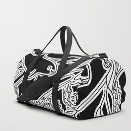 Vaquita Porpoise, Mother And Calf Duffle Bag