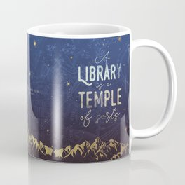 Library Temple Coffee Mug