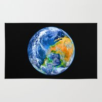 earth Area & Throw Rugs featuring Earth by Head Rubble