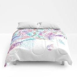 Bohemian Rain Comforters