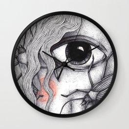 Cyclops Girl  Wall Clock