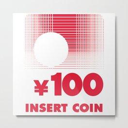 Vewlix 100 Yen Reproduction Metal Print