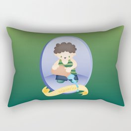 Children Zodiac Sign: Aquarius Rectangular Pillow