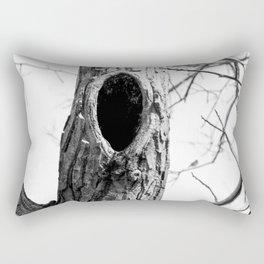 Hollow tree Rectangular Pillow
