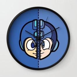 Old & New MegaMan Wall Clock
