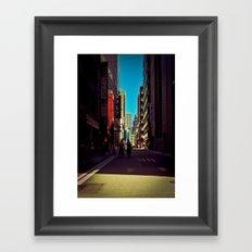 Tokyo Alley II Framed Art Print
