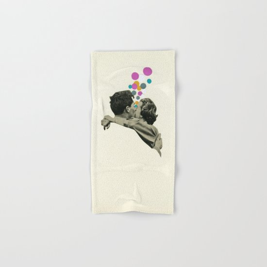 First Kiss Hand & Bath Towel