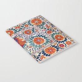 Shakhrisyabz Suzani Uzbekistan Antique Rug Notebook