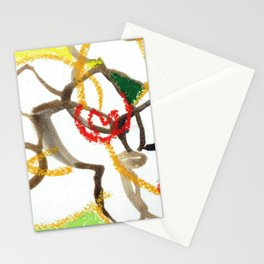 Sunny Morning Orchids Stationery Cards