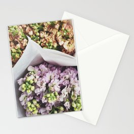 The Flower Market  Stationery Cards