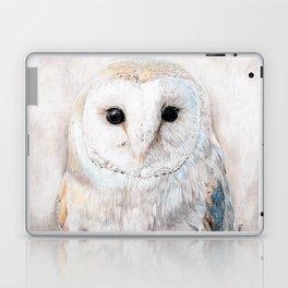 Soft Winter Owl Laptop & iPad Skin