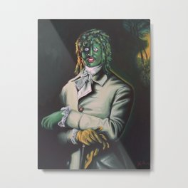 The Honorable Gregg Metal Print