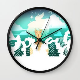 Be Fluid Wall Clock