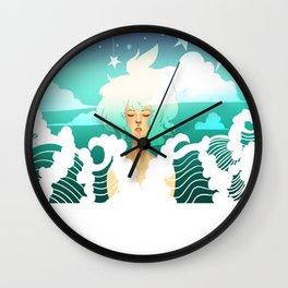 Be Fluid Wall Clock