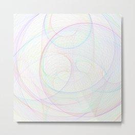 Zoomed Rings 1 Metal Print