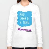 train Long Sleeve T-shirts featuring TRAIN by Alberto Lamote de Grignon