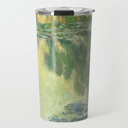 Claude Monet Water Lilies Impressionist Painting Travel Mug