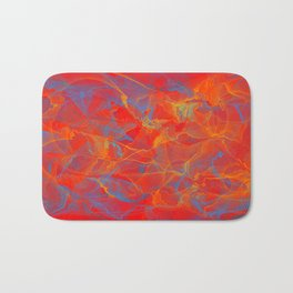 Rumble in The Red Bath Mat