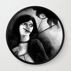 The Maltese Songbird Wall Clock