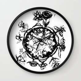 Little Prince small planet Wall Clock