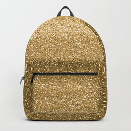 Glitter Glittery Copper Bronze Gold Backpack