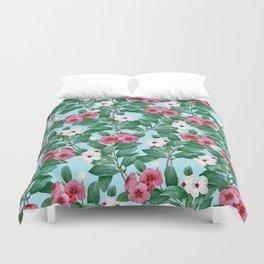 Flower garden II Duvet Cover