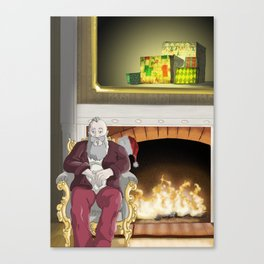 No.6 Christmas Series 1 - The Later Years Canvas Print