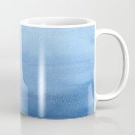 Blue Watercolor Ombré Coffee Mug