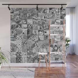 Doodling Together #2 Wall Mural