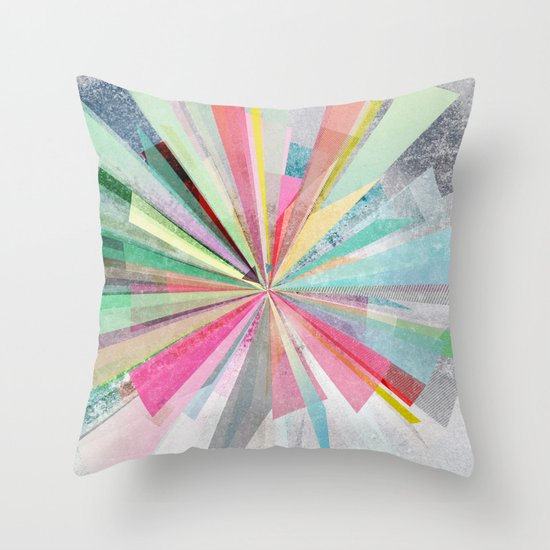Graphic X Throw Pillow
