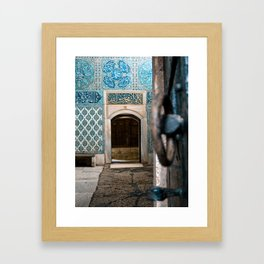 To the Courtyard of the Black Eunuchs Framed Art Print