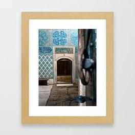 To the Courtyard of the Black Eunuchs Framed Art Print