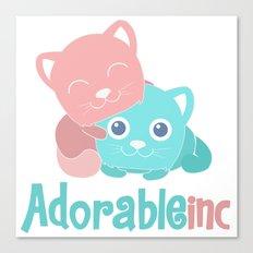 AdorableInc Canvas Print