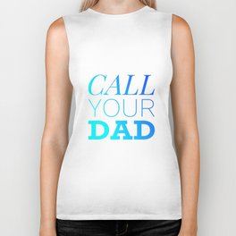 Call your Dad Biker Tank